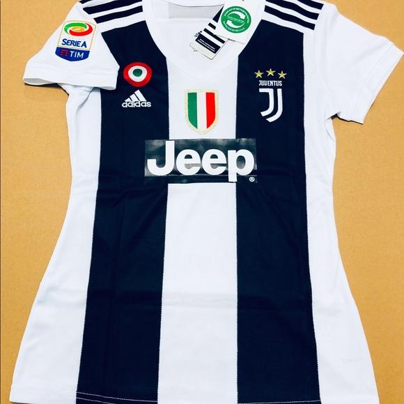 8fcf157d8a7 Women Juventus Cristiano Ronaldo  7 Soccer Jersey